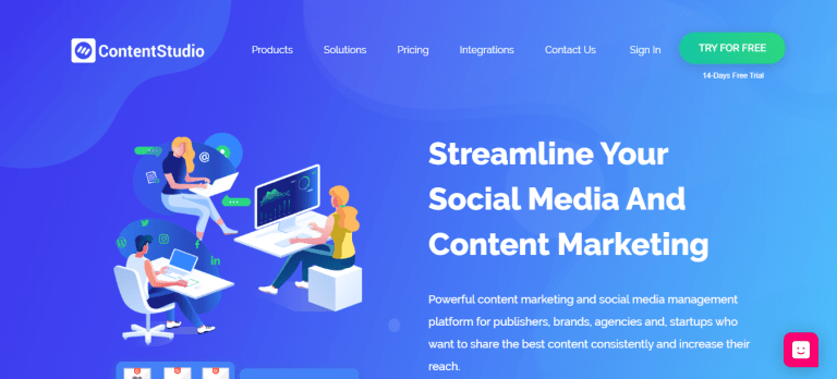 content studio social media management tool